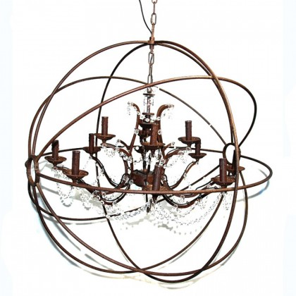 Black Eclipse Chandelier